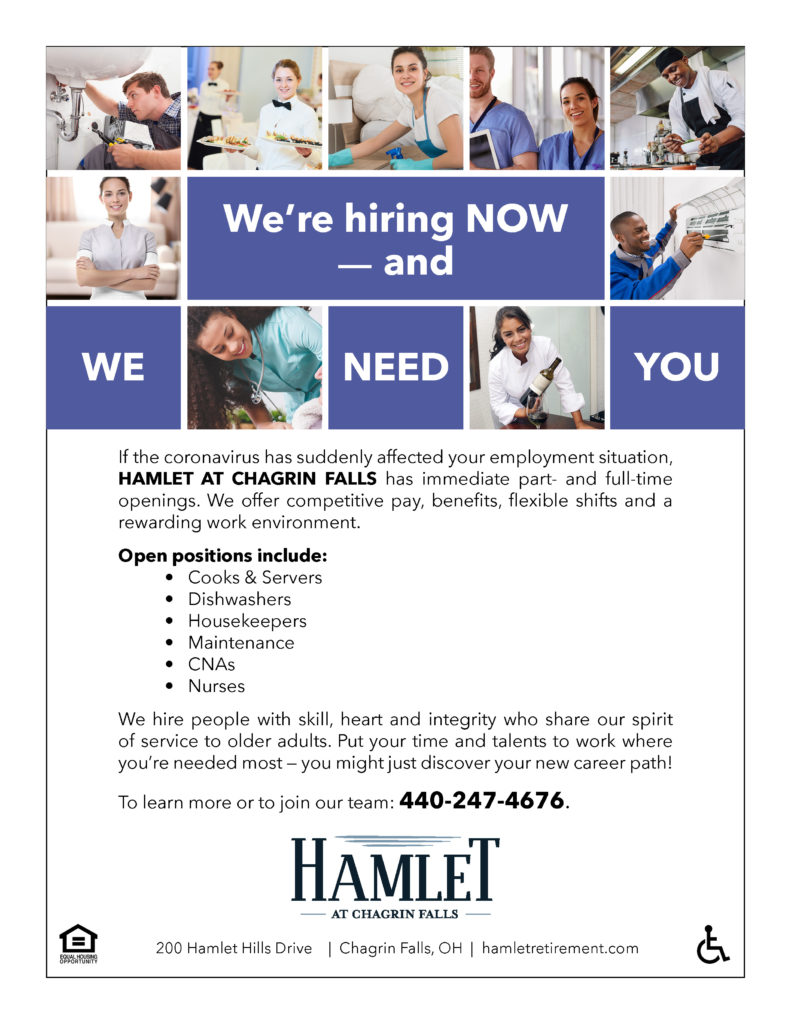 Join Our Hamlet Team!